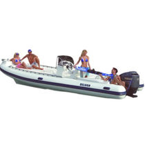 equipped rigid inflatable boat (outboard, center console, sundeck) 24 OPEN Beluga