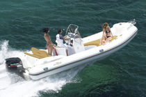 equipped rigid inflatable boat (outboard, center console, sundeck) KING 670  Nuova Jolly