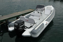 equipped rigid inflatable boat (outboard, center console, sundeck) MV 700 Motonautica Vesuviana