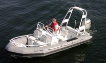 equipped rigid inflatable boat (outboard, dual console, roll-bar) TITAN 160 Titan