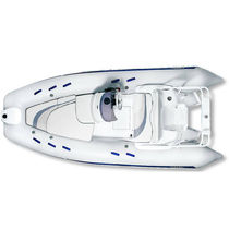 equipped rigid inflatable boat (outboard, side console, roll-bar) G480L GRAND Inflatable Boats