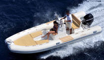 equipped rigid inflatable boat (outboard, side console, sundeck) WINNER 585 Nuova Jolly