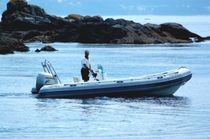 equipped rigid inflatable boat (outboard, side console, sundeck, roll-bar) TOURING 630 Astec