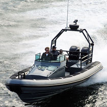 equipped rigid inflatable boat (outboard, twin engine, center console, roll-bar) R 32 OB CC Rupert Marine