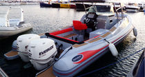 equipped rigid inflatable boat (outboard, twin engine, center console, sundeck, teak deck, shower, sink) 880 RS  NorthStar Marine