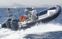 equipped rigid inflatable boat (outboard, twin engine, side console, sundeck, roll-bar) TOURING 750 Astec