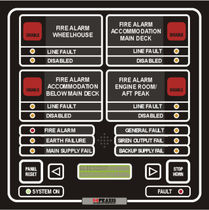 fire alarm system for ships FAS Praxis Automation Technology