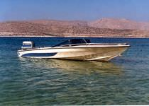 fish and ski boat : outboard runabout CALIFORNIA 16 Bluefin Boats