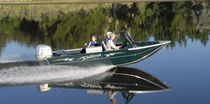 fish and ski boat : outboard runabout (aluminium) ANGLER SE Weldcraft