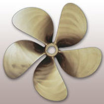 fishing boat propeller (bronze, 5 blades) POWERFLOW 80 SPW