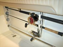 fishing rods rack  Teak Isle Mfg.