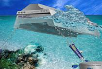 floating breakwater (concrete)  Superflex Pontoon Mooring Systems