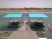 floating dock (custom-made)  Majestic Jetties &amp; Marinas