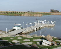 floating dock for fishing  CANDOCK INC.