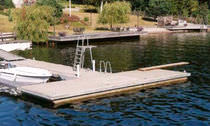 floating dock PRIVATE SF Marina
