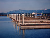 floating dock (concrete) ANACORTES International Marine Floatation Systems Inc.