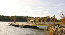 floating dock (wooden) A8 A-Laiturit