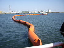 floating oil boom (inflatable) PVC EMPTEEZY