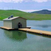 floating platform (for floating houses)  Topper Industries