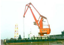 floating port crane 25T-33M  Nanjing Port Machinery