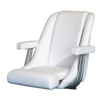 fold-up helm seat for boat  Pörtner