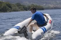 foldable inflatable boat: tender (outboard) CR-25 Neuvisa