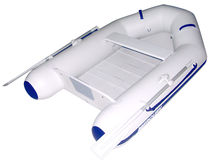 foldable inflatable boat: tender (outboard, slatted floor) 240 ROLL UP Mercury Outboards