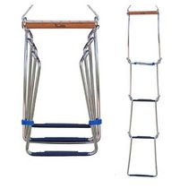 foldable ladder for inflatable boat DI3 Scandia Marine Products