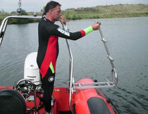 foldable ladder for inflatable boat  RibGear