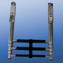 foldaway telescopic boat ladder (platform mount) 67934 AFI