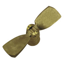 folding boat propeller (2 blades, shaft-drive or saildrive)  Sole