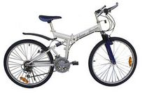 folding mountain bike 26 PM2  Blanc Marine