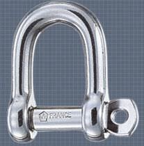 forged stainless steel D-shackle for sailboats 1202 Wichard