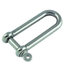 forged stainless steel D-shackle for sailboats A-623104 Allen Brothers