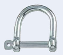 forged stainless steel D-shackle for sailboats 8969 Marinetech GmbH & Co.KG