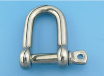 forged stainless steel D-shackle for sailboats  Jinfer International