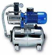 fresh-water pressure system (pump and accumulator tank, stainless steel) J / MG Rheinstrom pumpen