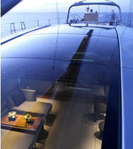 glass panel for boats FORMGLAS SPEZIAL® TILSE Industrie- und Schiffstechnik