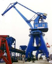 grab ship unloader (level luffing type) MQ16T-30M  Nanjing Port Machinery