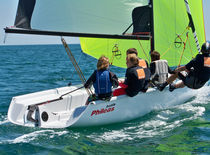 handed sailing dinghy (asymmetric spinnaker, double trapeze) LUDIC Philéas Boats
