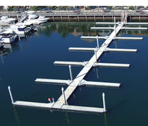 heavy duty floating dock (concrete) ELITE Superior Jetties