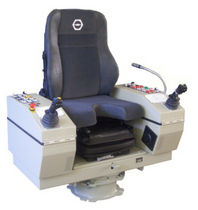 helm seat with built-in control stand for ships SV1C  Spohn & Burkhardt