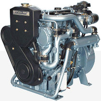 high speed auxiliary diesel engine for ships 4.4GM (48 KVA @ 1500 RPM -> 55.2 KVA @ 1800 RPM) Perkins Sabre