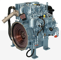 high speed auxiliary diesel engine for ships (indirect fuel injection, natural aspiration) 415GM (13.8 KVA @ 1500 RPM -> 16.5 KVA @ 1800 RPM) Perkins Sabre