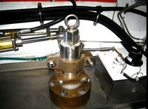 hydraulic cylinder for super-yacht steering RUDDER UPPER HOLDER Aritex