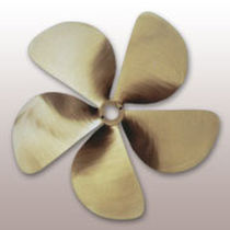 in-board speed boat propeller (bronze, 5 blades) KATAPULT 92 SPW