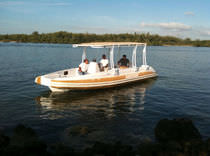 inflatable boat : equipped rigid inflatable yacht tender (in-board, center console, T-Top) LC 28 Nautica Ribs