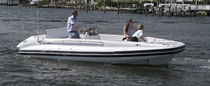 inflatable boat : equipped rigid inflatable yacht tender (in-board, center console, teak deck) LC 22 Nautica Ribs