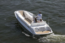 inflatable boat : equipped rigid inflatable yacht tender (in-board, side console, teak deck) LC 20 Nautica Ribs