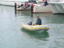inflatable boat : rigid inflatable tender (outboard) V-LITE 2.70 - 3.40 - 4.00 m African Cats